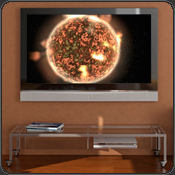 aeon new dimension in music visualization, in your living room